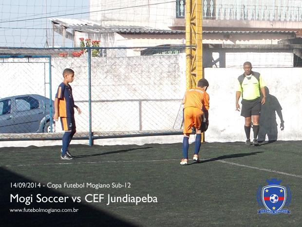 Copa Futebol Mogiano 2014 - CEF Jundiapeba vs Mogi Soccer - Sub-12
