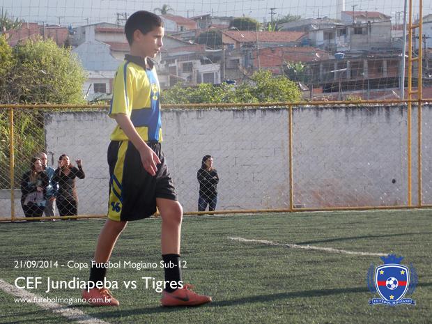Copa Futebol Mogiano 2014 - Semifinal Sub-12 - CEF Jundiapeba vs Tigres
