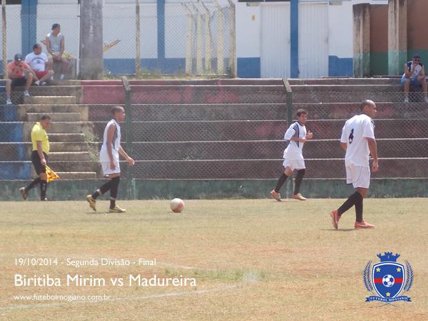 Segunda Divis�o 2014 - Final - Biritiba Mirim vs Madureira