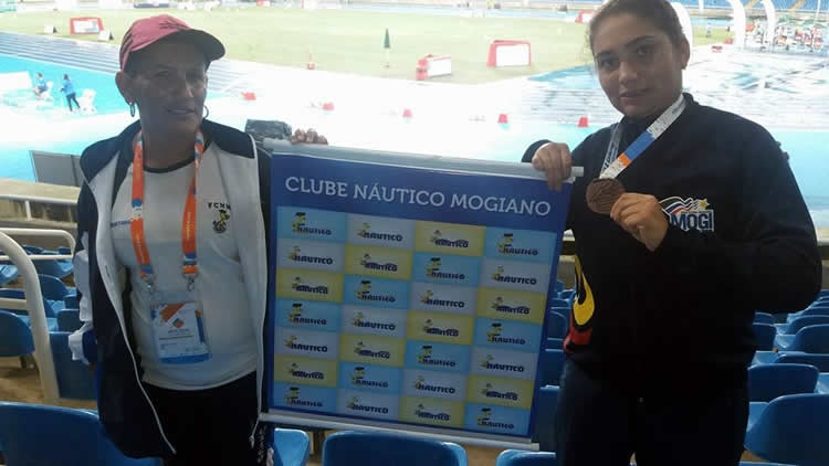 Atleta do Náutico participa do Open Internacional de Atletismo e Natação